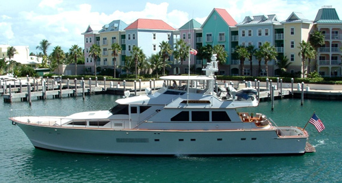 Yacht CAPTIVATOR - Main