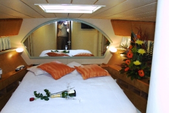 Yacht CATHERINES -  Guest Cabin