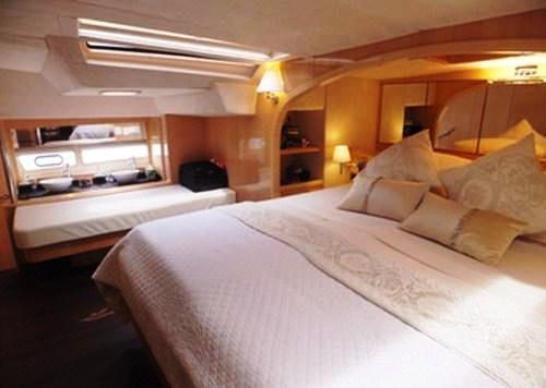 Yacht CATTITUDE -  Master Cabin