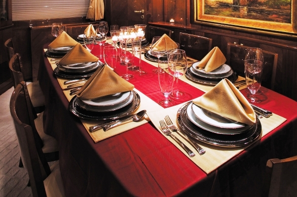 Yacht CRISTALEX -  Formal Dining
