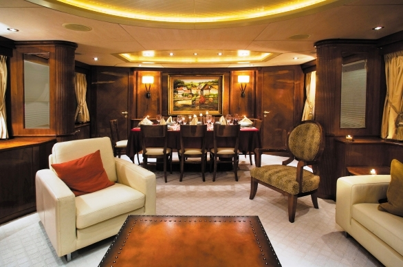 Yacht CRISTALEX -  Main Salon