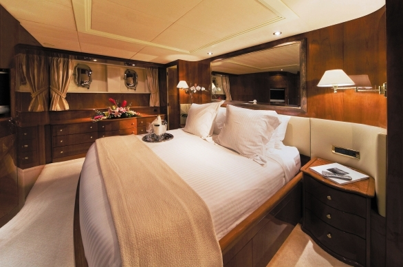 Yacht CRISTALEX -  Master Cabin