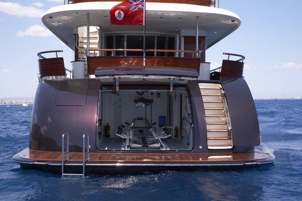 Yacht CYRUS ONE -  Swim Platform