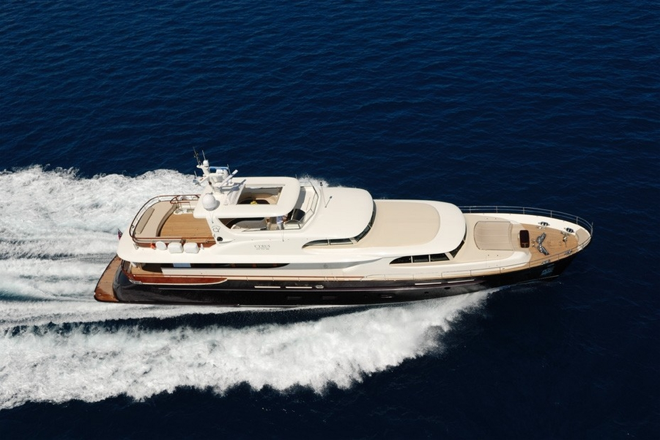Yacht CYRUS ONE - Main