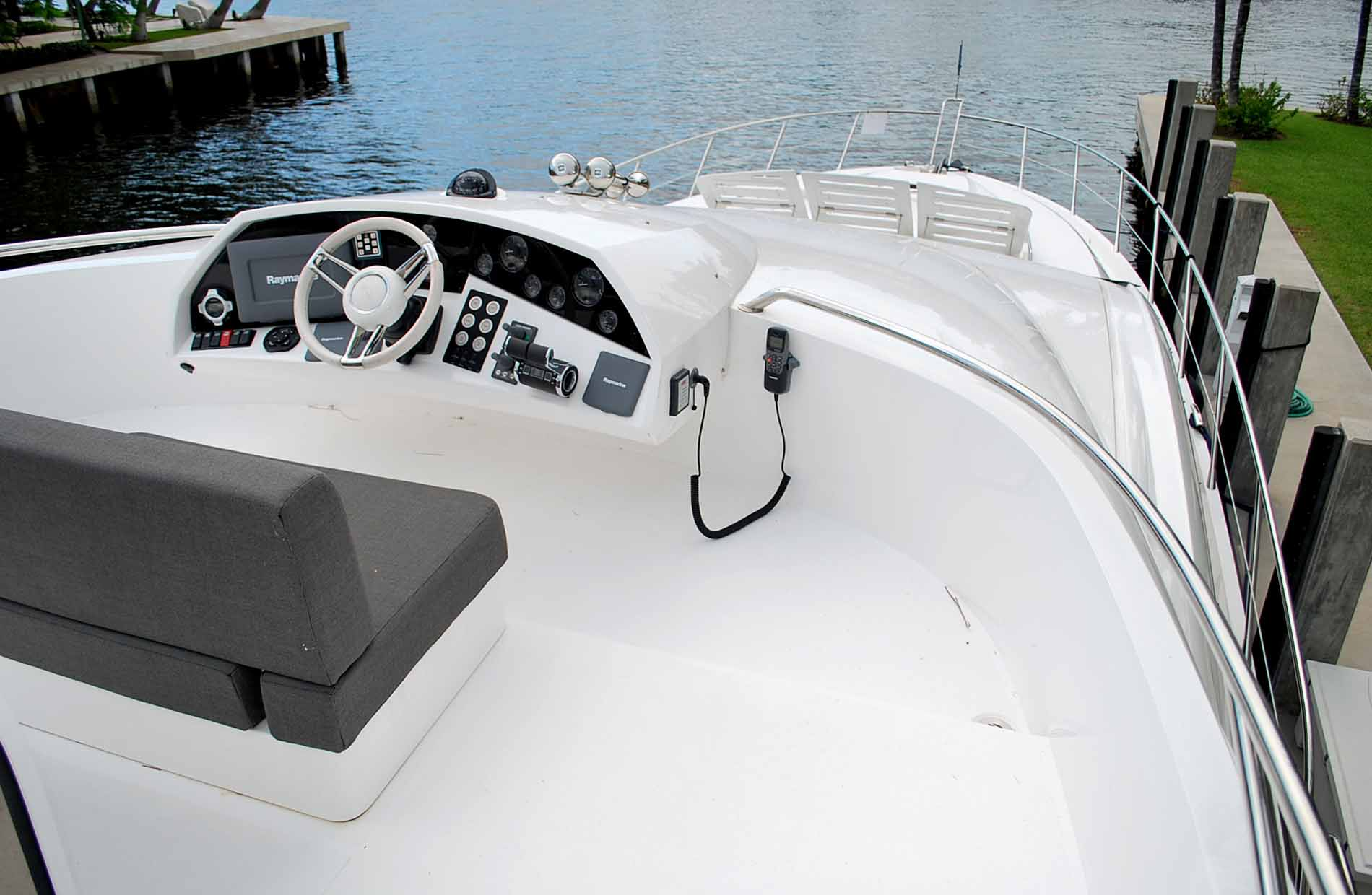 Yacht EAGLE II -  Flybridge