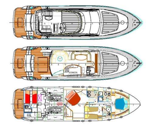Yacht ESTELADA -  Layout