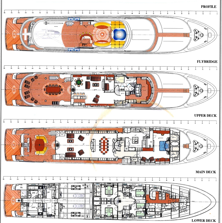 Yacht EXCELLENCE -  Layout