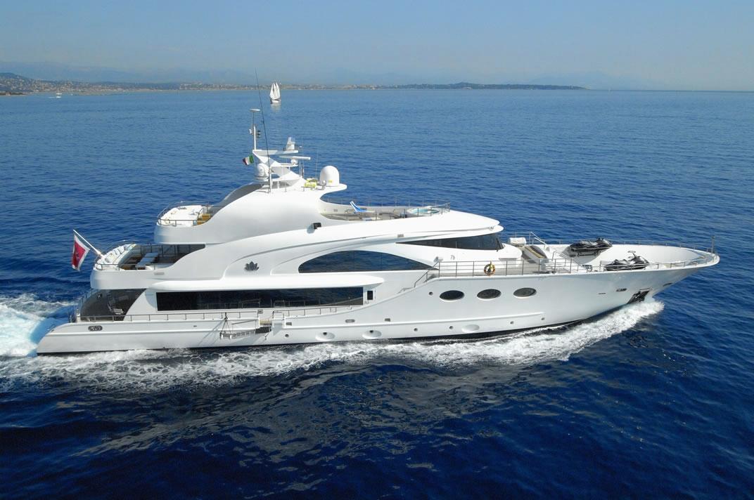 Yacht FATHOM - Main