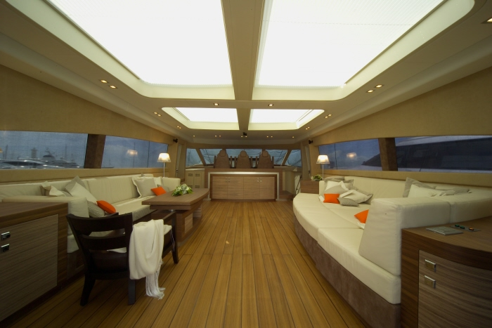 Yacht GEORGE P -  Salon