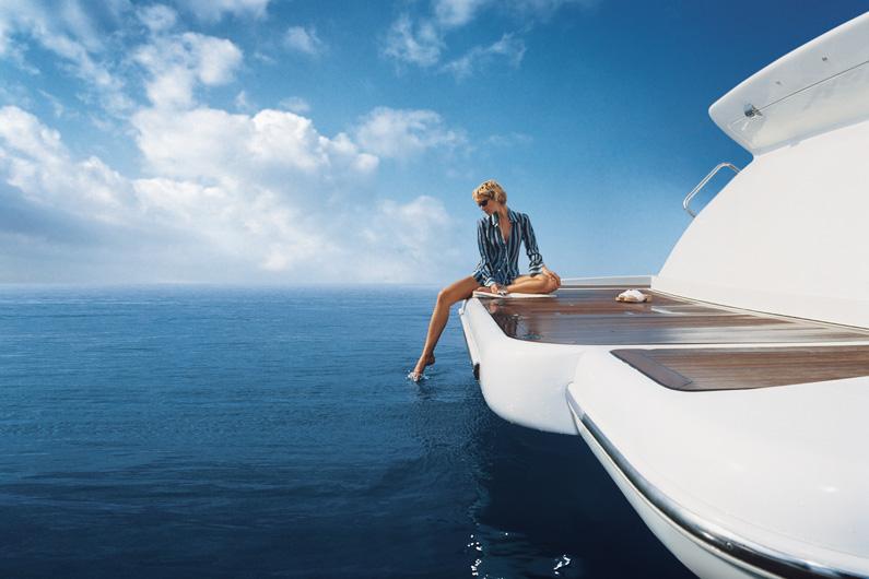 Yacht GISSY -  Swim Platform