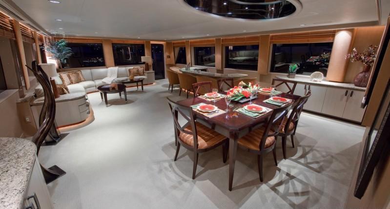 Yacht GOLDEN TOUCH - Main Salon