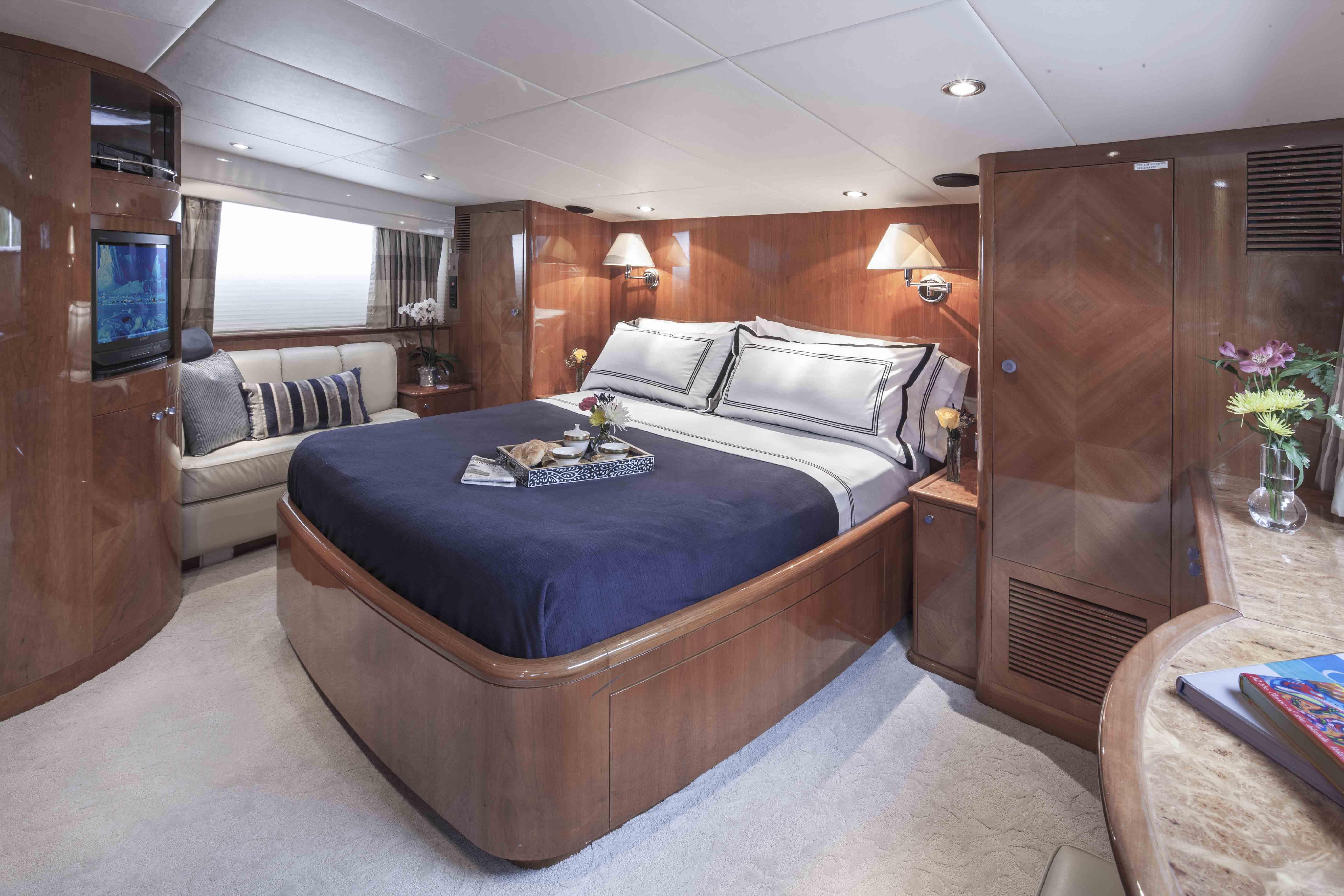 Yacht GRAND BAROSSA - Master Cabin 2