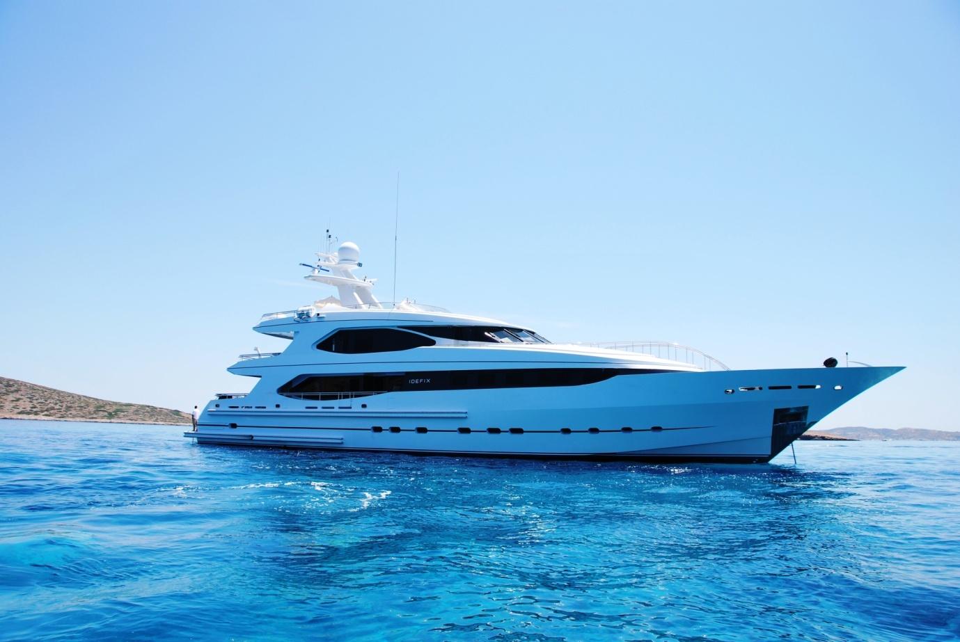Yacht IDEFIX - Profile