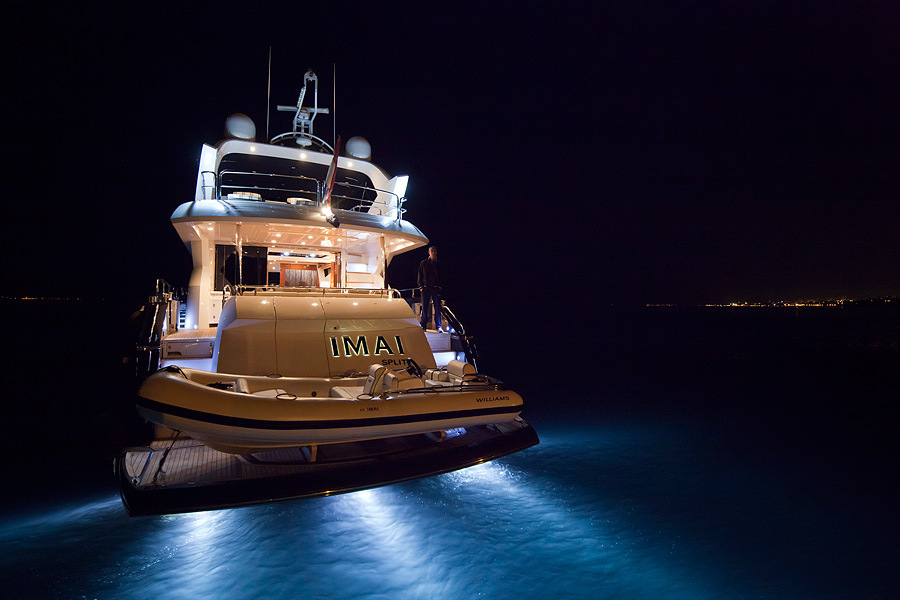 Yacht IMAI -  At Night