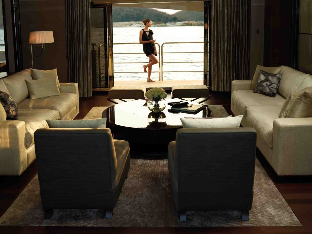 Yacht IMPERIAL PRINCESS -  Main Salon Balcony