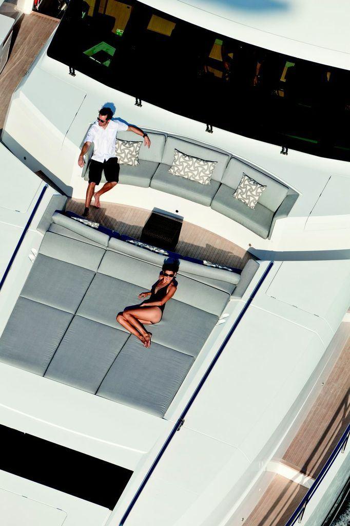 Yacht IMPERIAL PRINCESS - Forward Sunpads