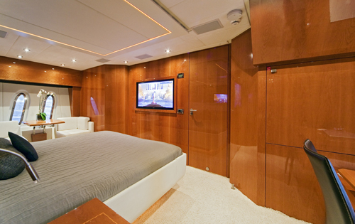 Yacht Irina Esc -  Master Cabin 2