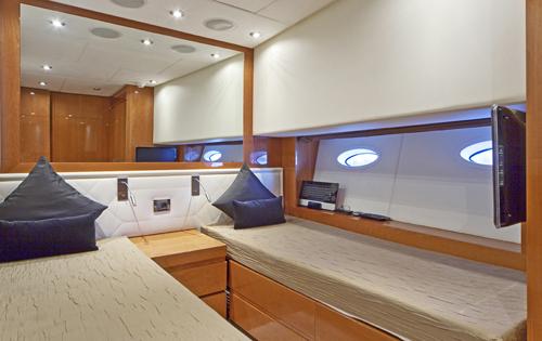 Yacht Irina Esc -  Twin Cabin