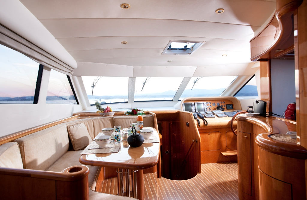 Yacht JINA 1 -  Dining
