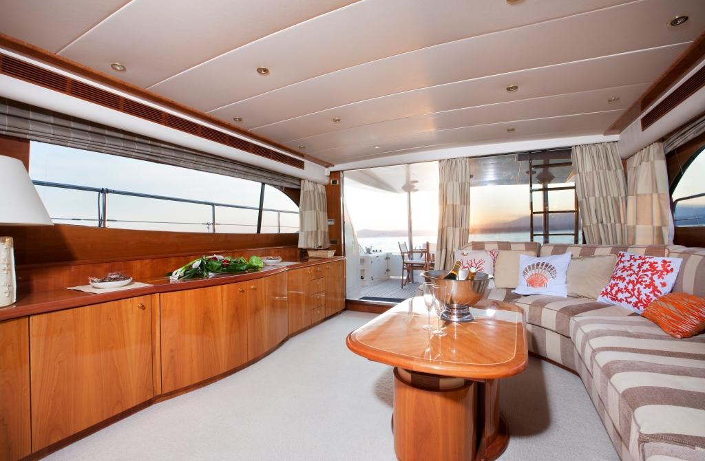 Yacht JINA 1 -  Salon 2