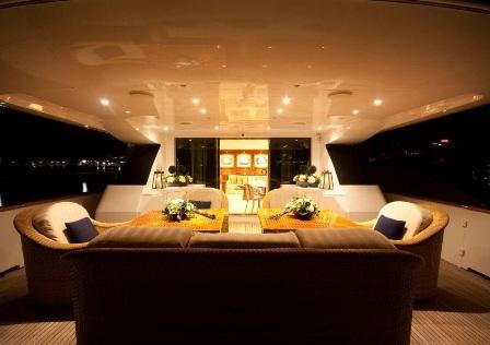 Yacht KENAYL -  Aft Deck