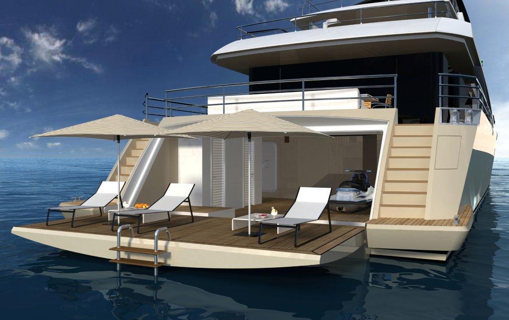 Yacht LA PELLEGRINA -  Beach Club