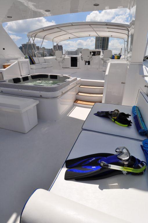 Yacht LADY DIANE II -  Sundeck