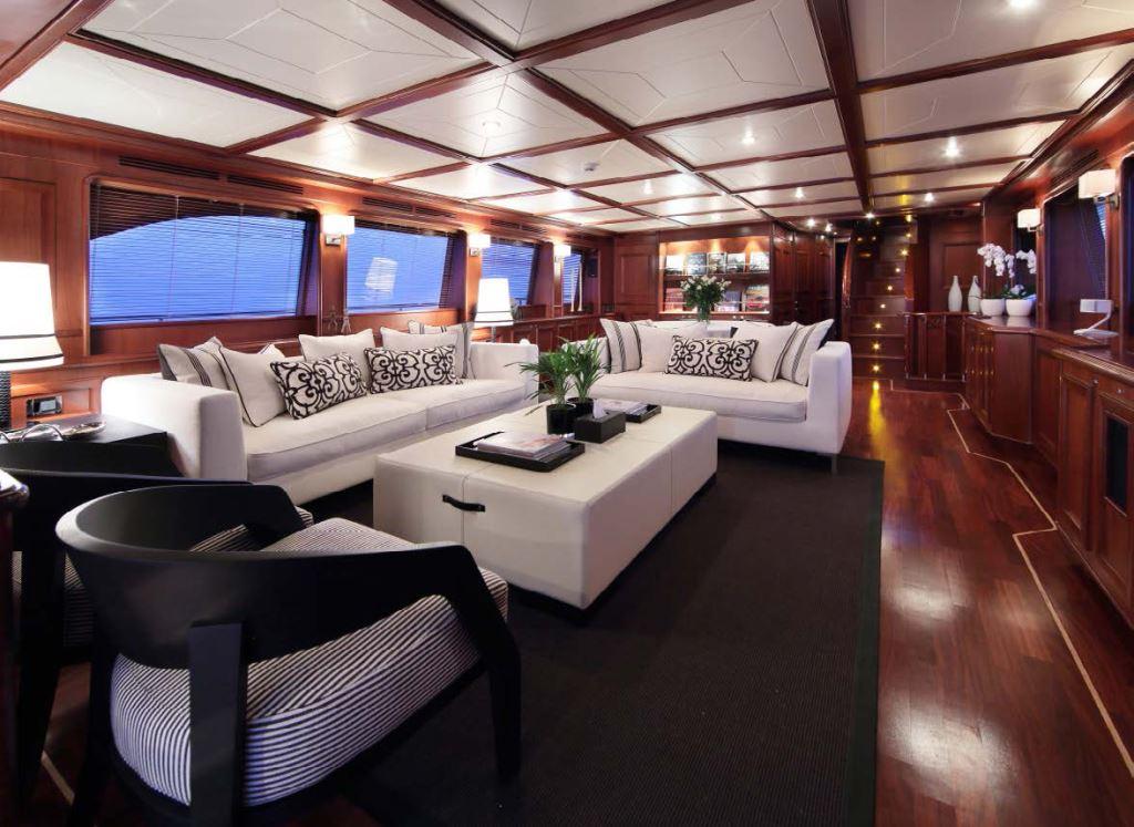 Yacht LADY SOUL -  Main Salon