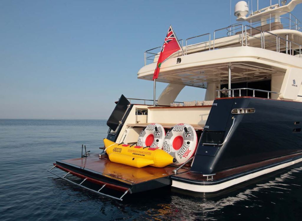 Yacht LADY SOUL -  Swim Platform