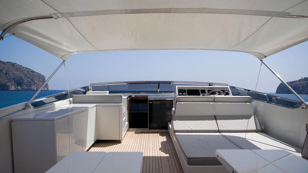 Yacht LAS BRISAS -  Flybridge