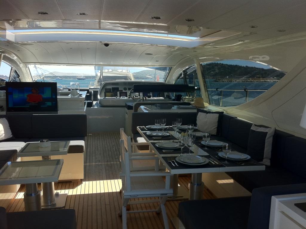 Yacht LAST CHANCE -  Deck Salon 2