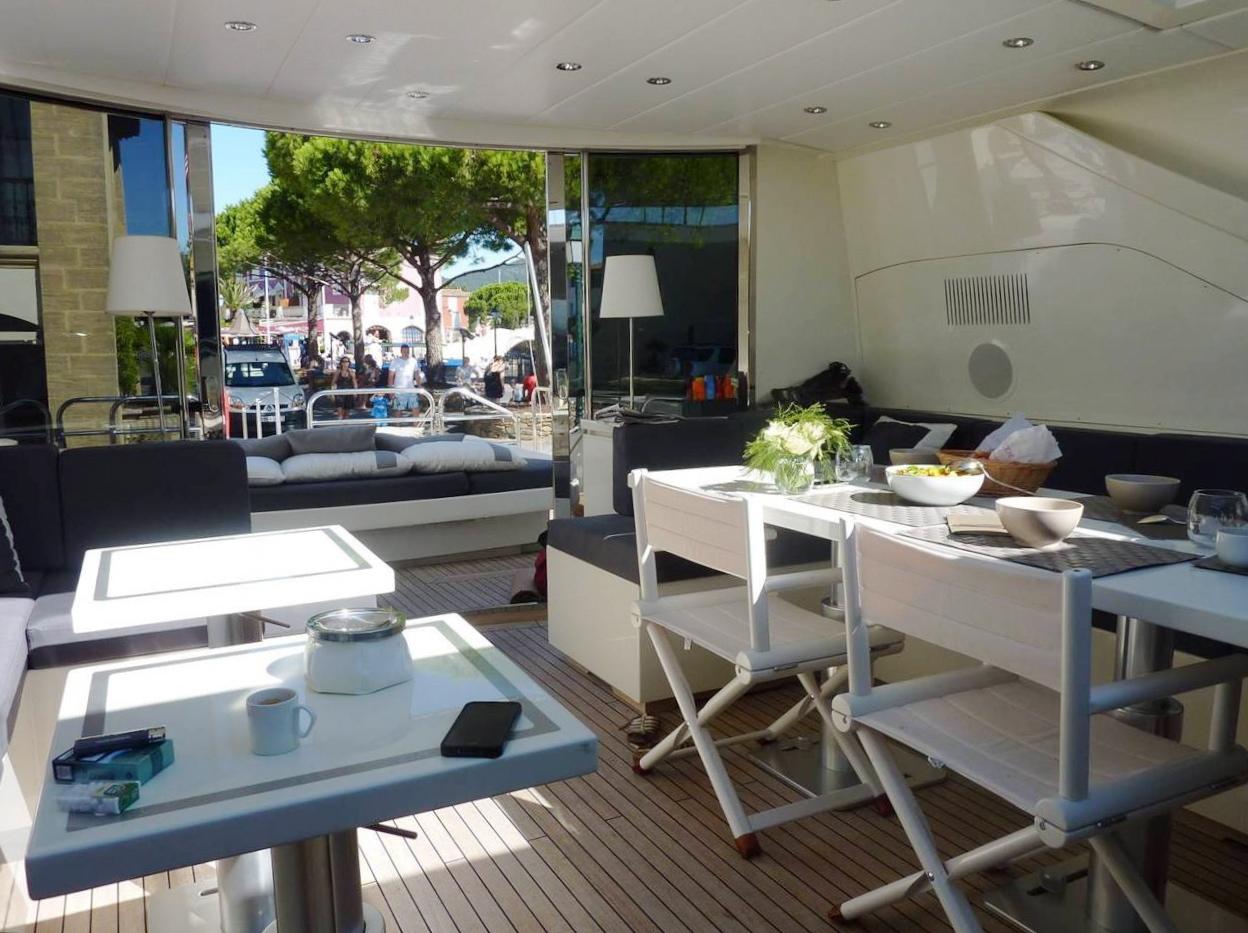 Yacht LAST CHANCE -  Deck Salon 3