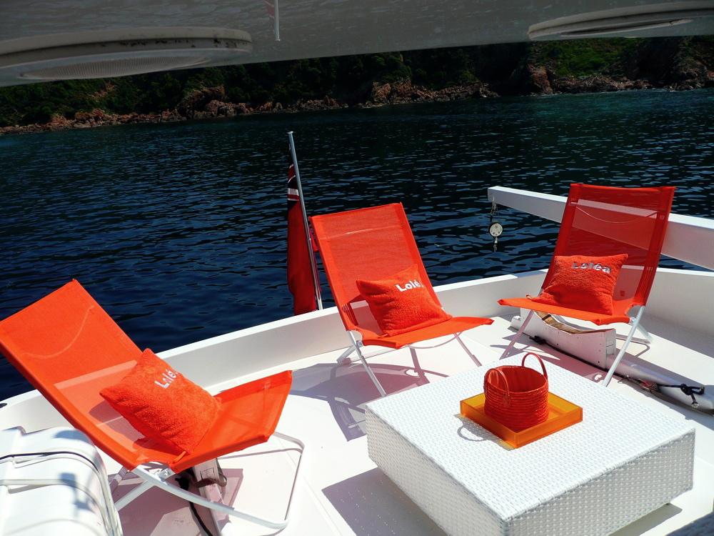 Yacht LOLEA -  Flybridge Aft