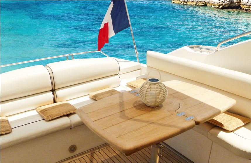 Yacht LUCIANO - Aft Deck