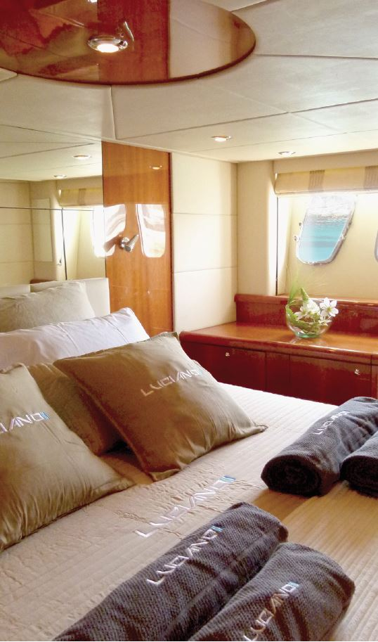 Yacht LUCIANO - Master Cabin
