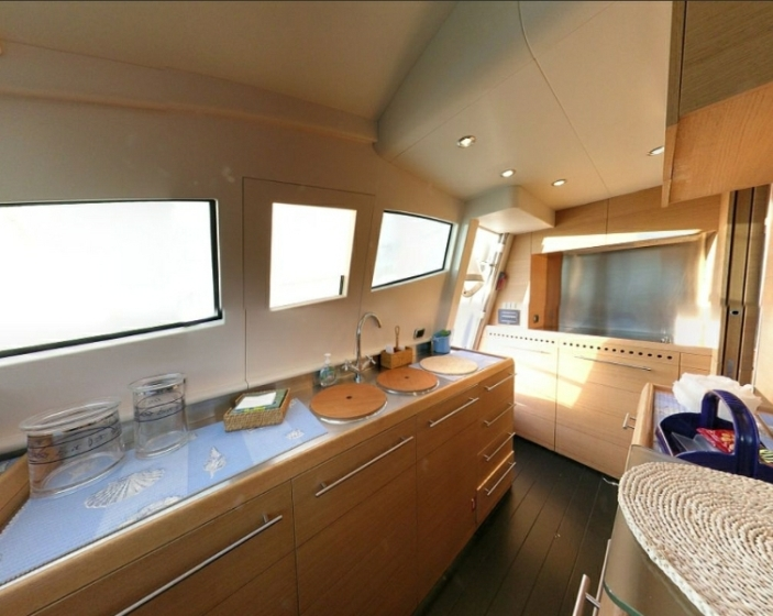 Yacht LUCIGNOLO -  Galley