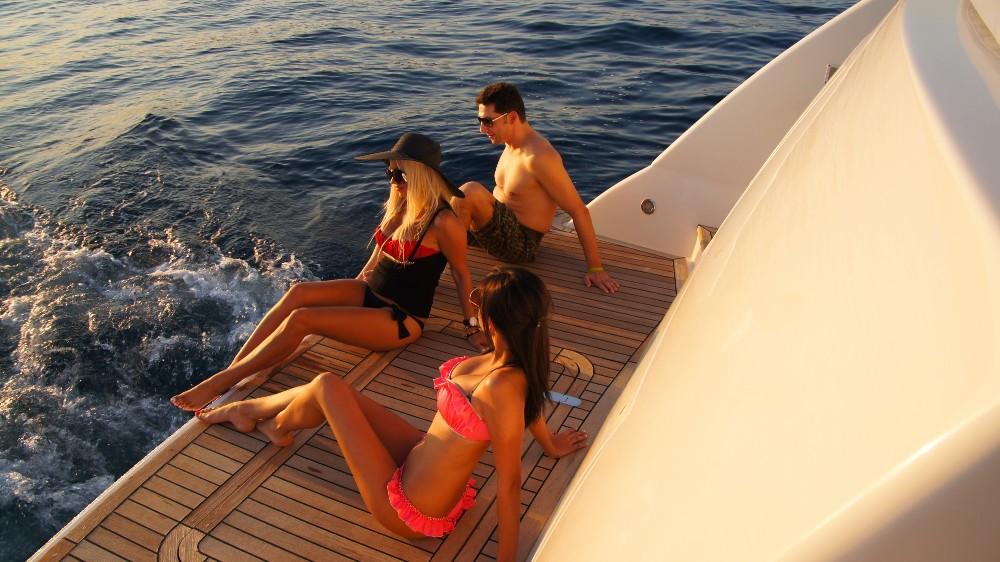 Yacht LUCIGNOLO -  Swimming Platform