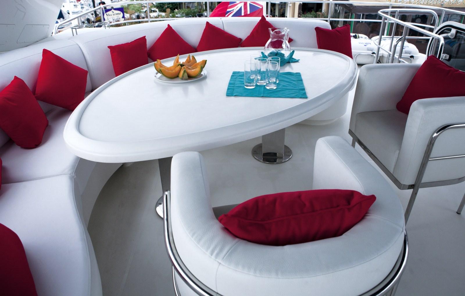 Yacht LUDI - Flybridge Dining