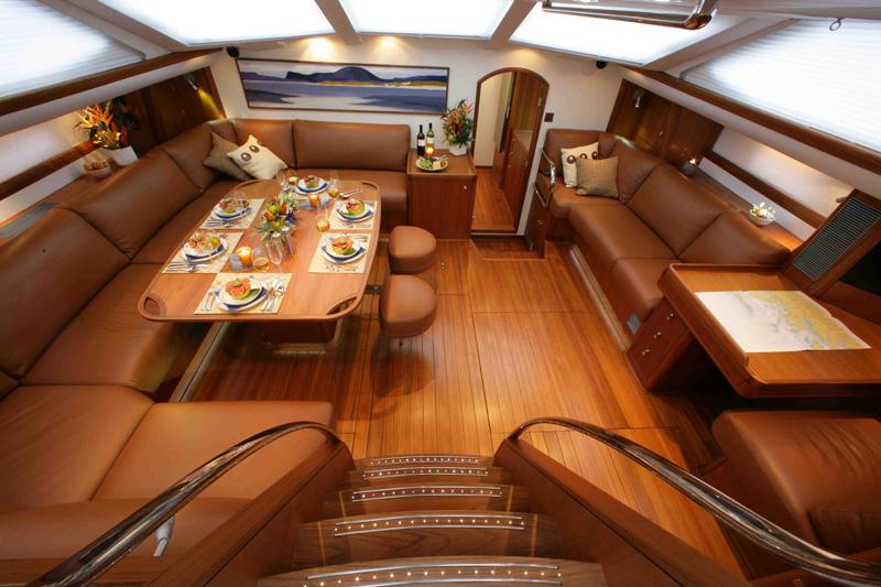 Yacht LUSKENTYRE -  Main Salon