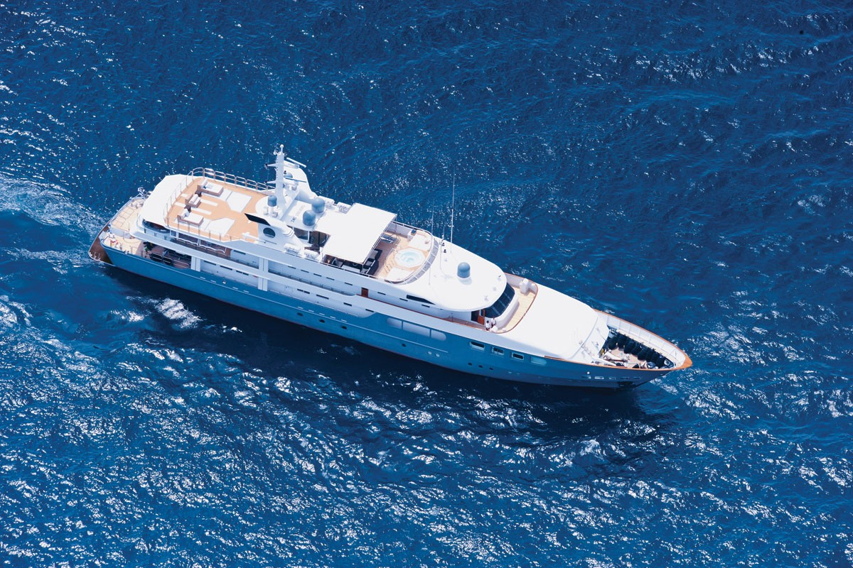 Yacht MAGNA GRECIA -  From Above