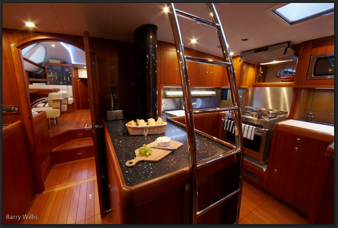 Yacht MAGRATHEA -  Galley