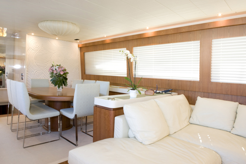 Yacht MARY FOR EVER -  Salon and Dining