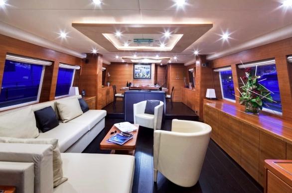 Yacht MAYAMA -  Main Salon