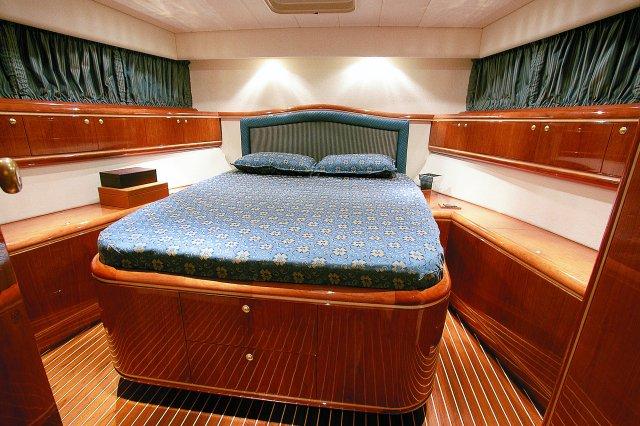 Yacht MERLINO - Master Cabin (Sistership)