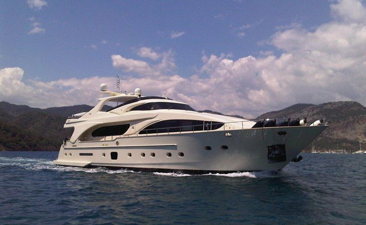 Yacht MERVE - Main