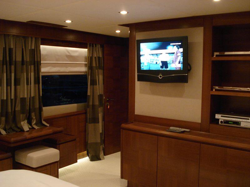 Yacht MERVE - Master Cabin