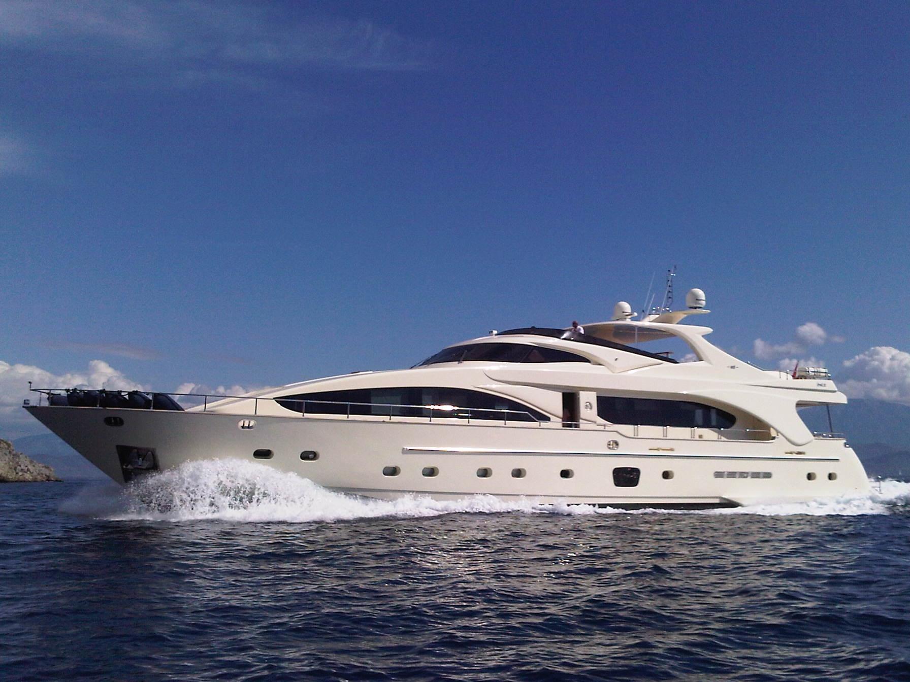 Yacht MERVE - Profile