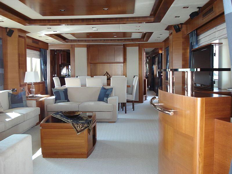 Yacht MERVE - Salon