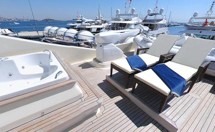 Yacht MERVE - Sundeck