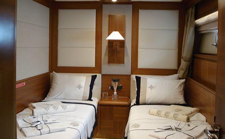 Yacht MERVE - Twin Cabin